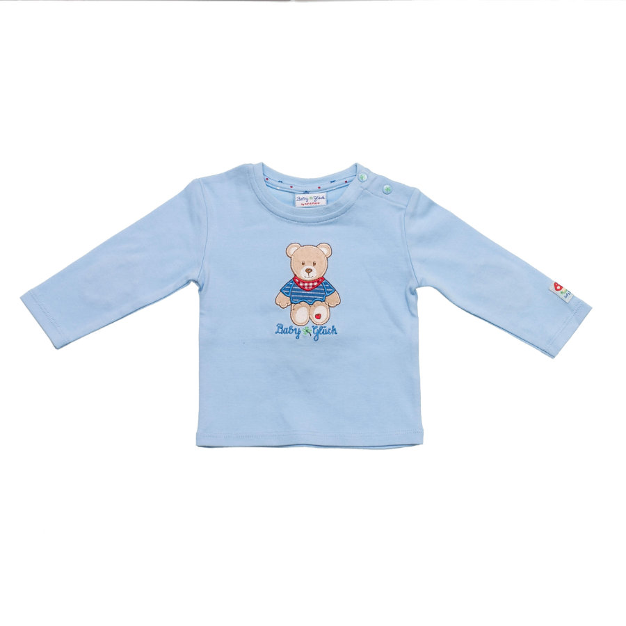 SALT AND PEPPER Baby Glück Boys Longsleeve Bärchen light blue