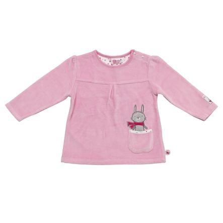SALT AND PEPPER Baby Glück Girls Bluzka z długim rękawem Bunny Nicki sorbet