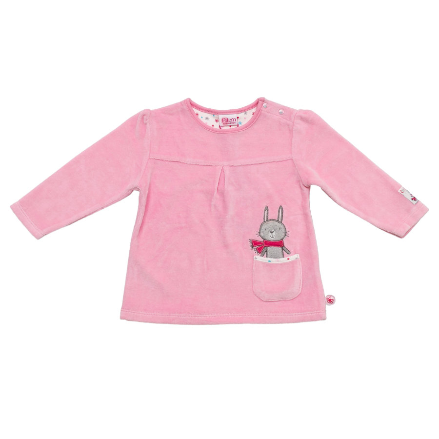 SALT AND PEPPER Baby Glück Girls Longsleeve Bunny Nicki sorbet