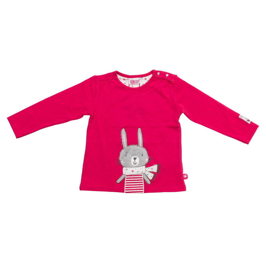 SALT AND PEPPER Baby Glück Girls Longsleeve magenta