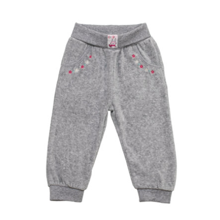 SALT AND PEPPER Baby Glück Girls Nicki Hose grey melange