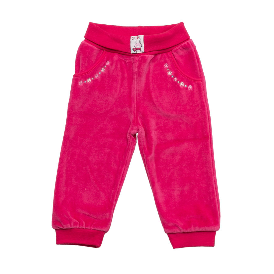 SALT AND PEPPER Baby Glück Girls Nicki Hose magenta