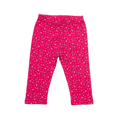 SALT AND PEPPER Baby Glück Girls Legging Bunny allover magenta