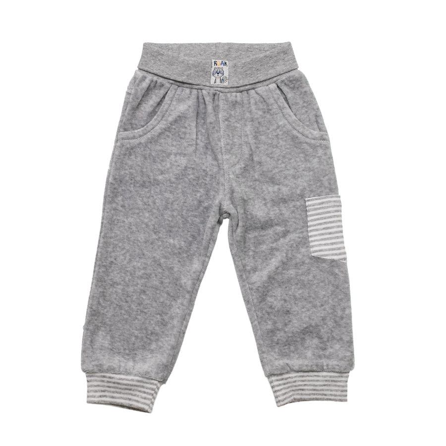 SALT AND PEPPER Baby Luck Nicki Boys Pantalones Tigre uni gris mélange