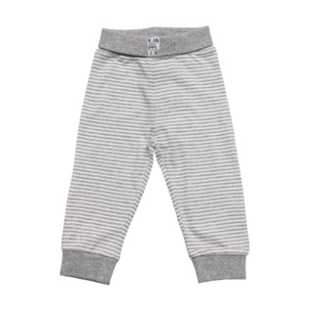 SALT AND PEPPER Baby Glück Boys Sweathose Funky Tiger grey melange