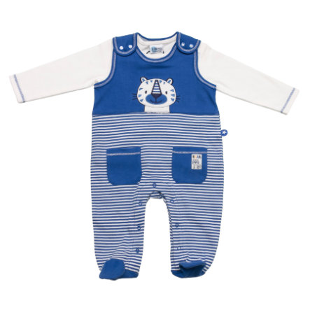 SALT AND PEPPER Baby Glück Boys Stramplerset Tiger stripe blue