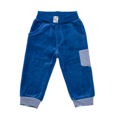 SALT AND PEPPER Baby Glück Boys Nickihose Tiger uni bright blue