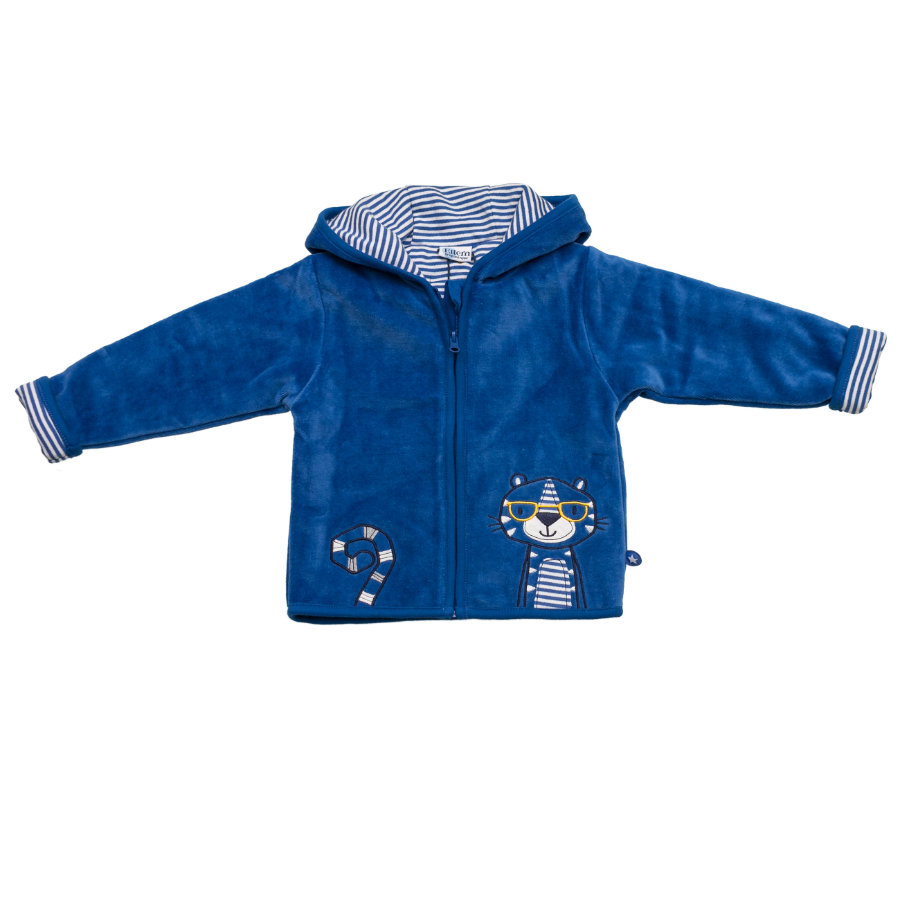 SALT AND PEPPER Baby Glück Boys Nicki Jacke bright blue