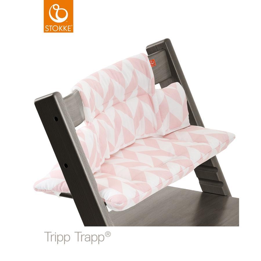STOKKE® Tripp Trapp® Sitzkissen Pink Chevron beschichtet