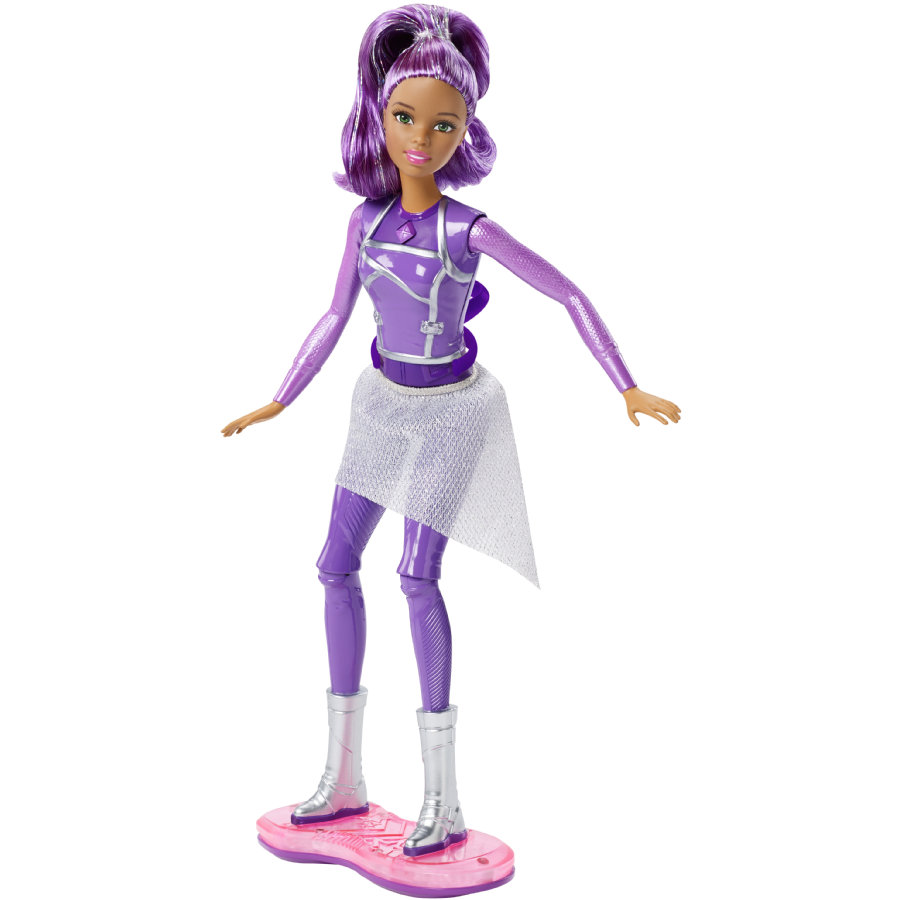 Barbie: Lights & Sounds Hoverboard Puppe