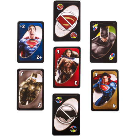 MATTEL UNO Batman contre Superman