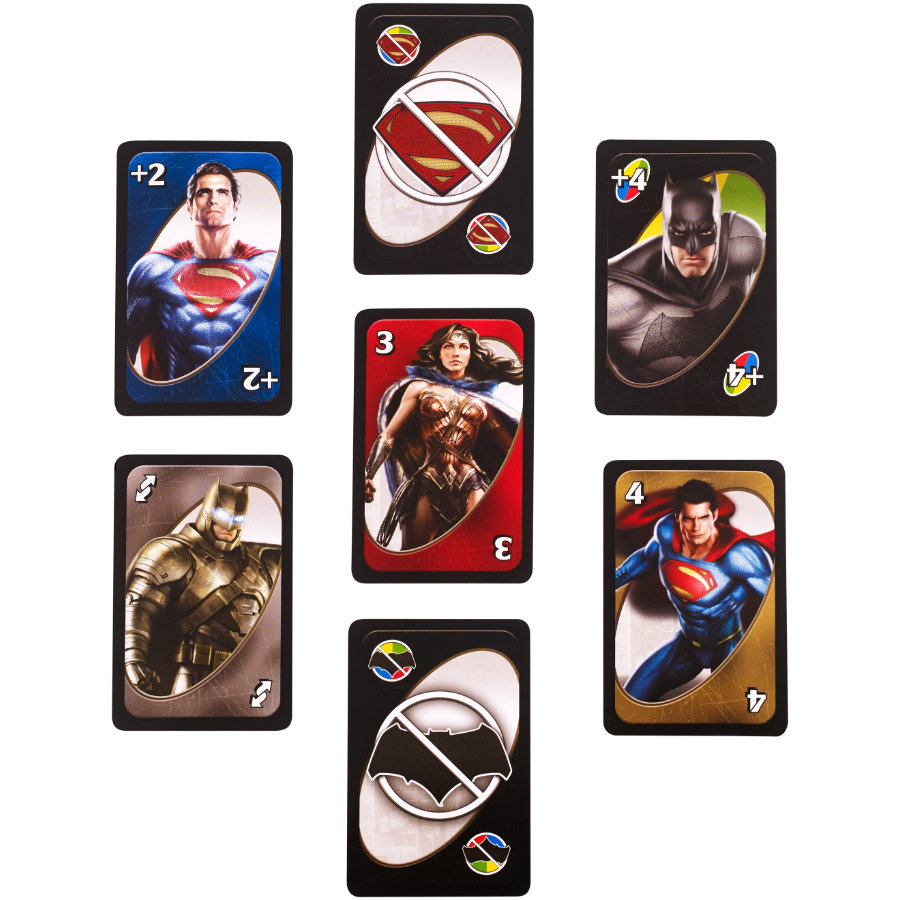 MATTEL UNO Batman v Superman
