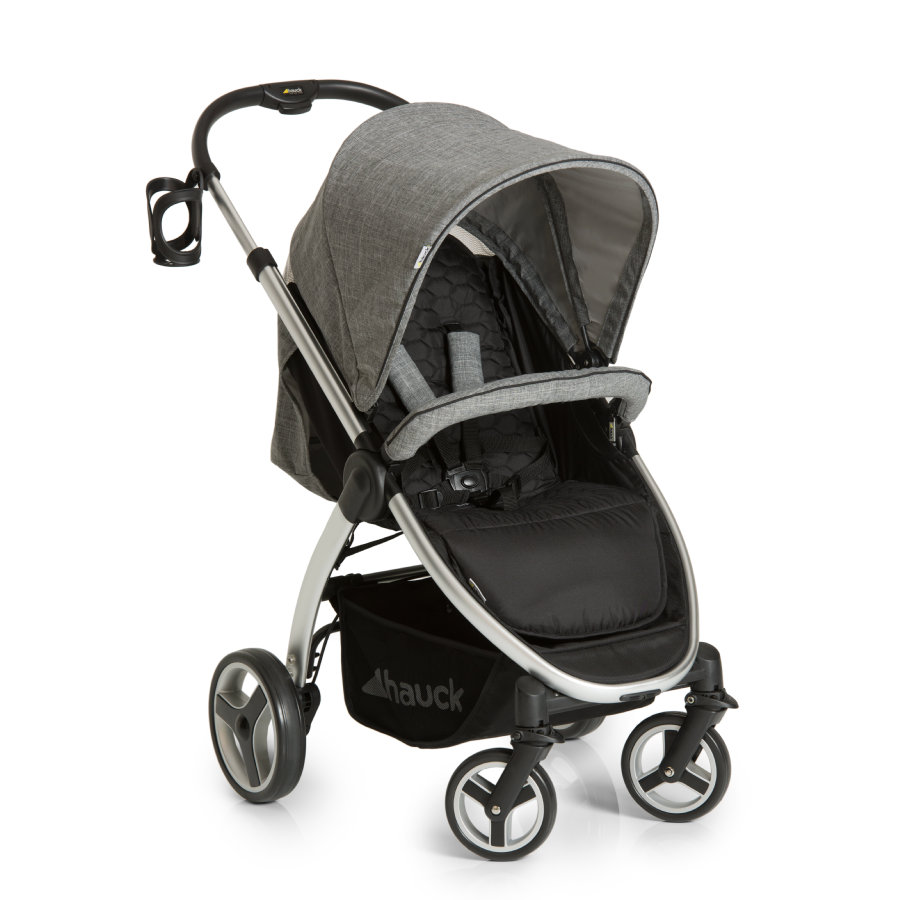 Hauck Buggy Lift Up 4 Melange Grey