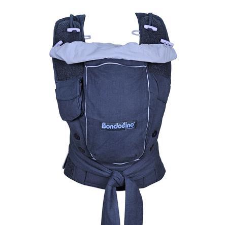 HOPPEDIZ Dětské nosítko Bondolino Slim fit, modré
