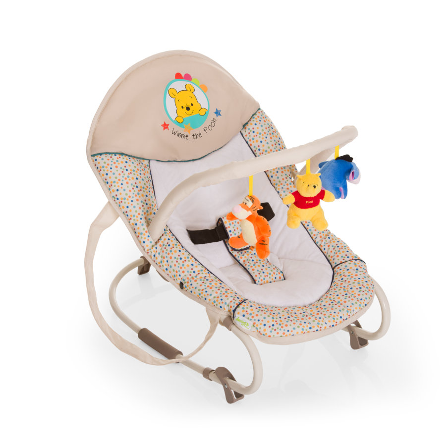 hauck Babywippe Bungee Deluxe Pooh Ready To Play