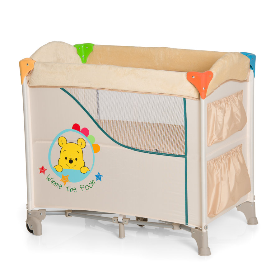 hauck lit parapluie sleep n care winnie l 39 ourson ready to play. Black Bedroom Furniture Sets. Home Design Ideas