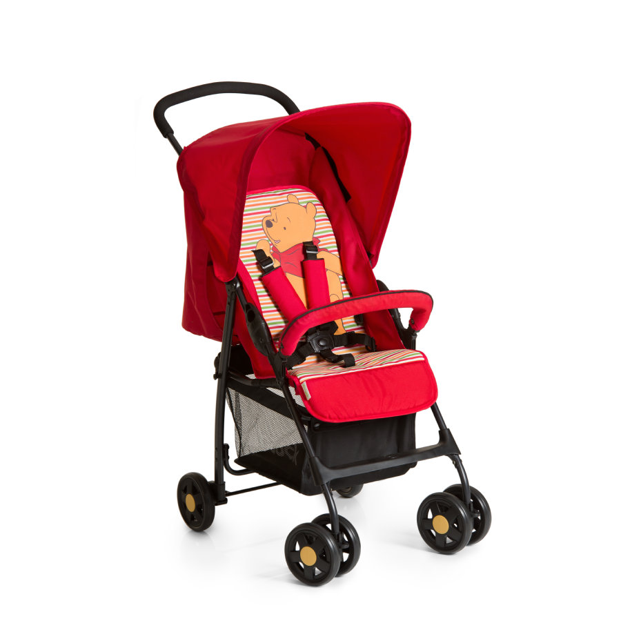 Hauck Buggy Sport Pooh Spring Brights red