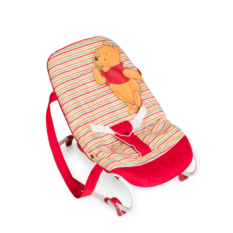 hauck Babywippe Rocky Pooh Spring Brights red