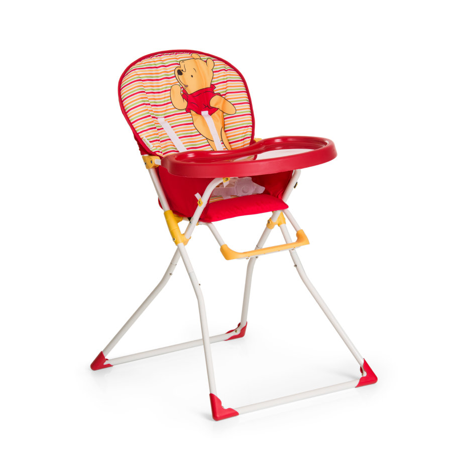 hauck Chaise haute Mac Baby Winnie l'ourson Spring Brights rouge