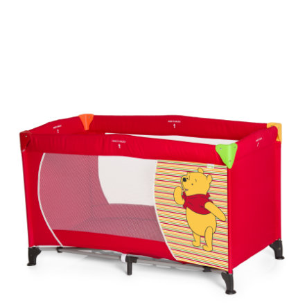 hauck Reisebett Dream N Play Pooh Spring Brights red