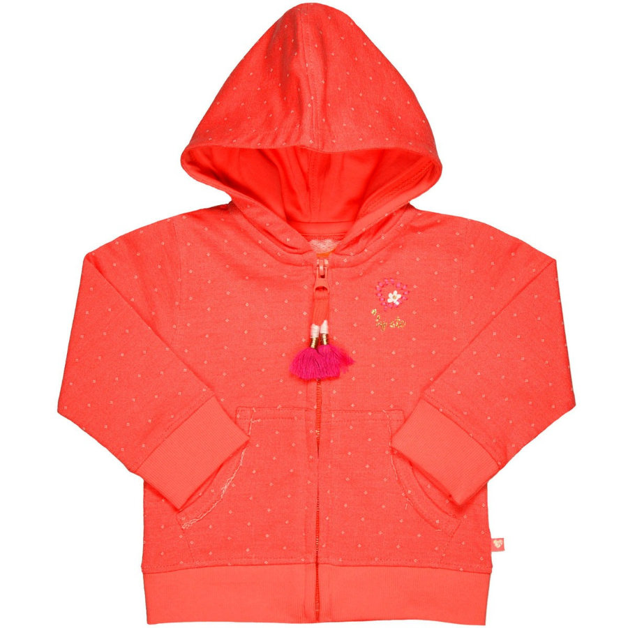 STACCATO Girls Sweatjacke pumpkin structure