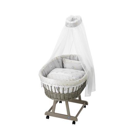 Alvi Sada do košíku pro miminko medvídek béžová