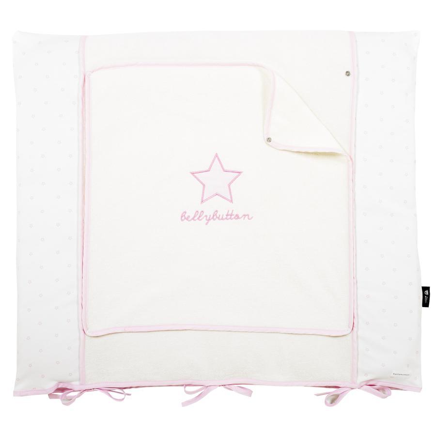 Alvi Potah na přebalovací podložku Classic Star růžový 70 x 85 cm