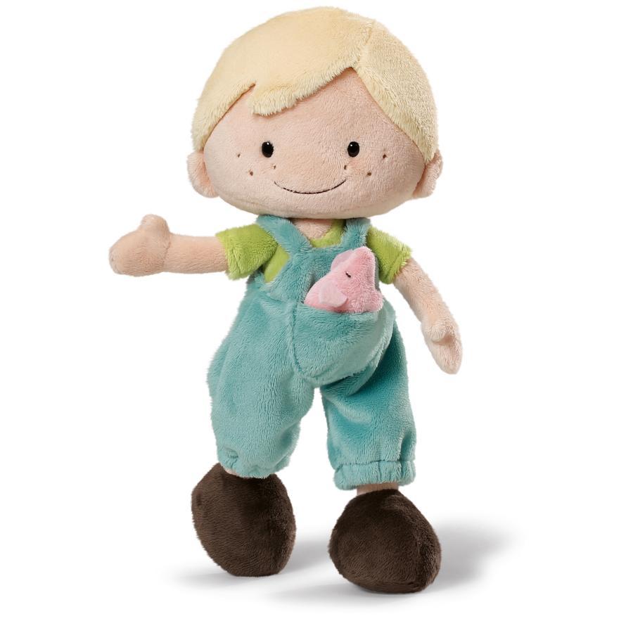 NICI Wonderland Puppe Minilucas 30 cm Schlenker Plüsch