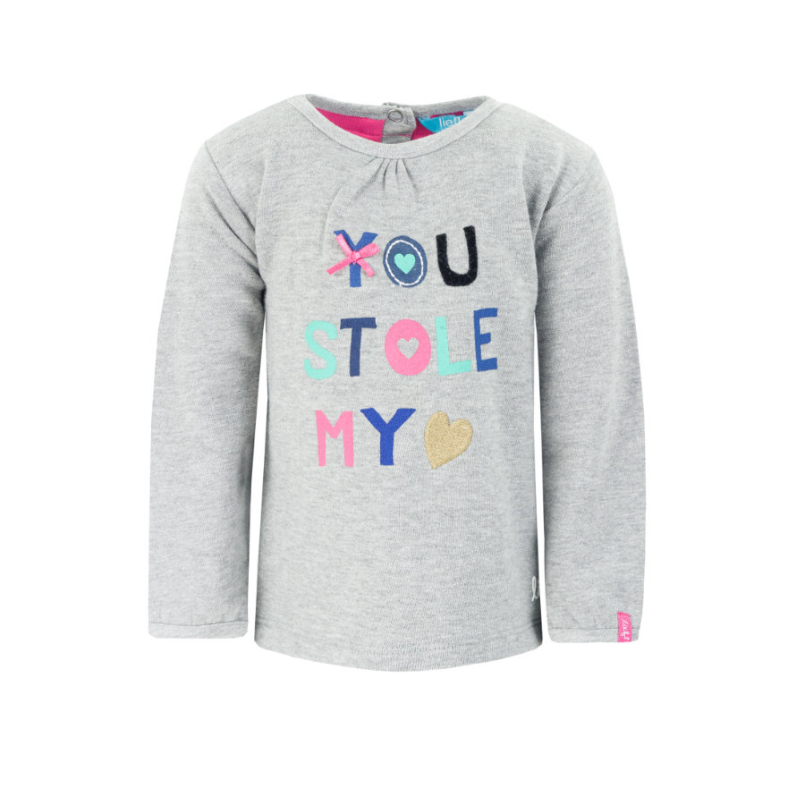 LIEF! Girls Sweatshirt Grey Melange