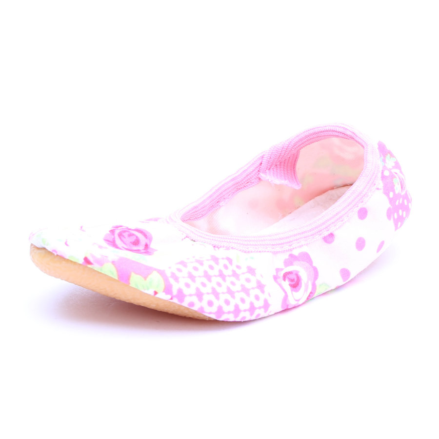 Beck Girls Gymnastikschuh Rosen rosa