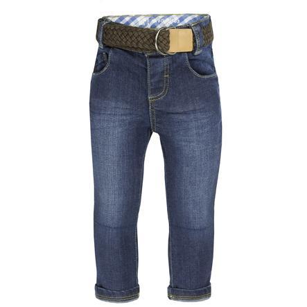 běžel! Chlapecké džíny tmavě modrá džínovina