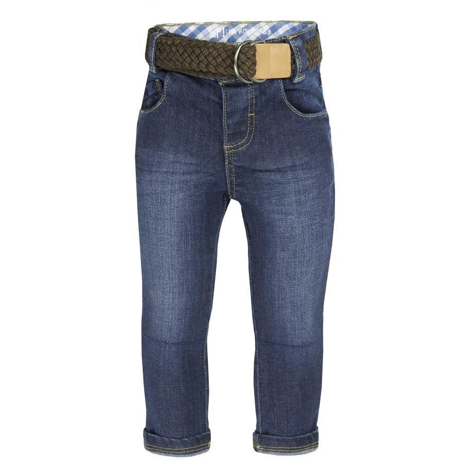 uciekła! Boys Jeans dark blue denim