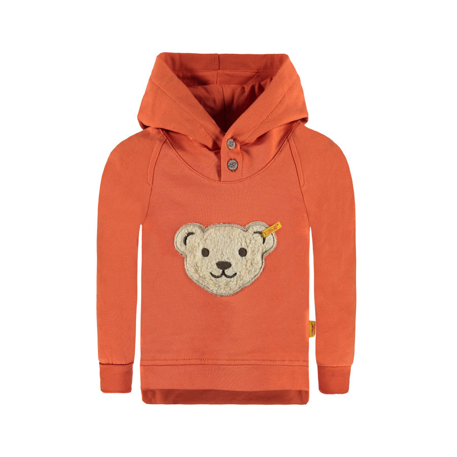 Steiff Boys Sweatshirt orange