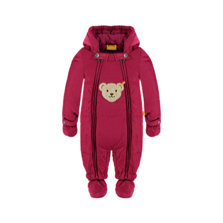 Steiff Schneeoverall sangria red
