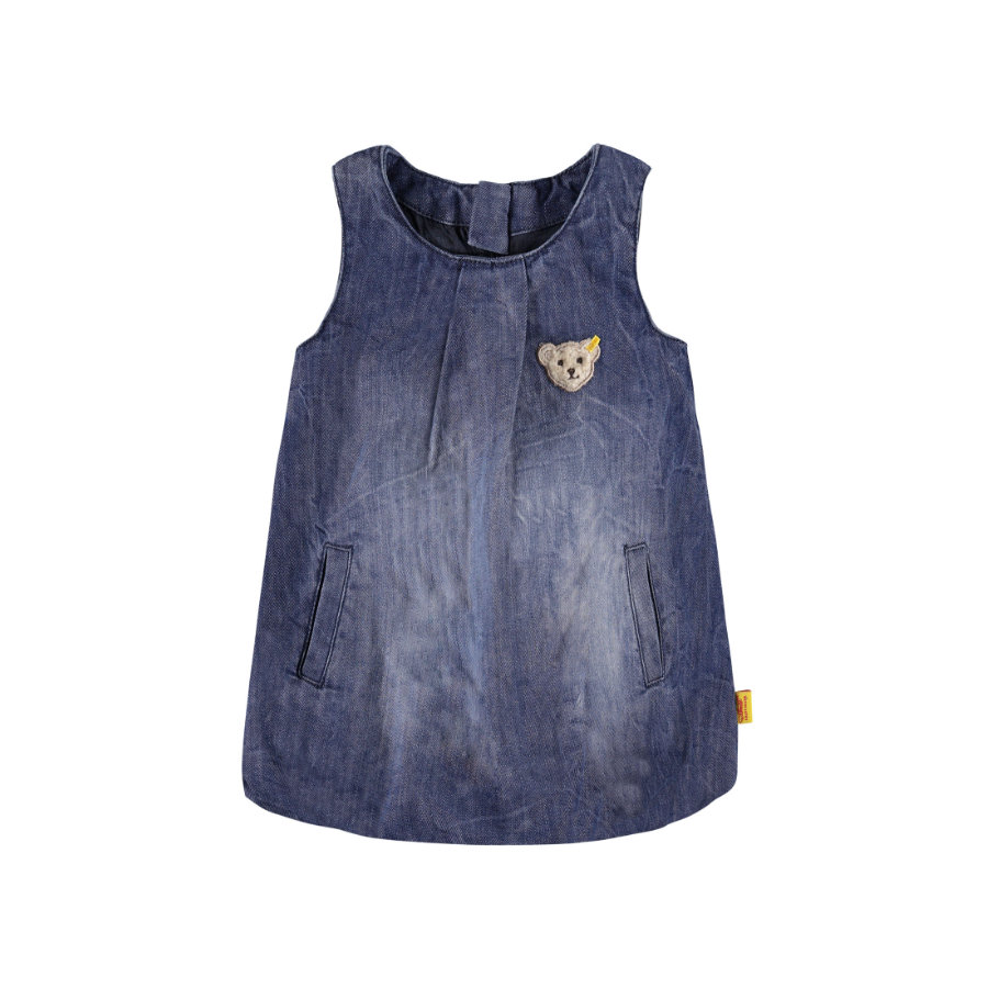 Steiff Girls Jeanskleid blue denim