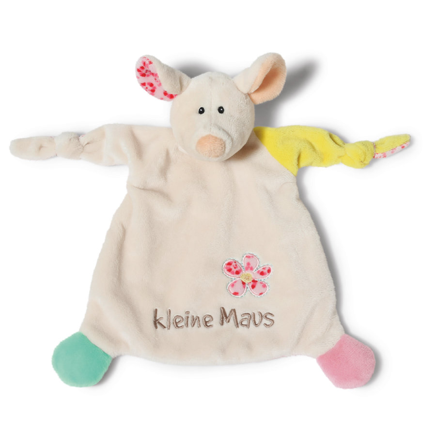NICI My First NICI Knuffeldoek Muis kleine Maus 25 x 25 cm