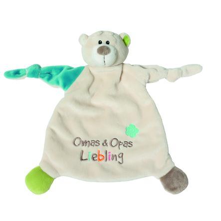 NICI My First NICI Cuddle Towel Bear Bestemor & Bestefars Darling 40040