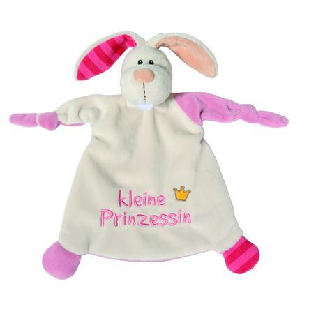 NICI My First NICI Schmusetuch Hase kleine Prinzessin 25 x 25 cm