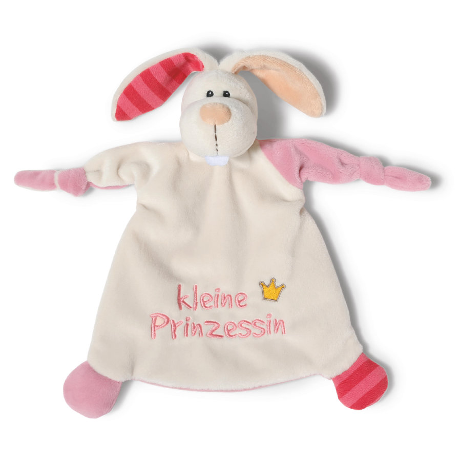 NICI My First NICI koseklut kanin lille prinsesse 25 x 25 cm