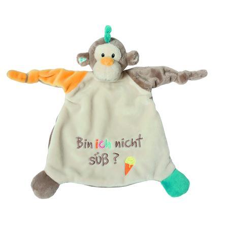 NICI My First NICI Schmusetuch Affe: Bin ich nicht süß? 25 x 25 cm 40046