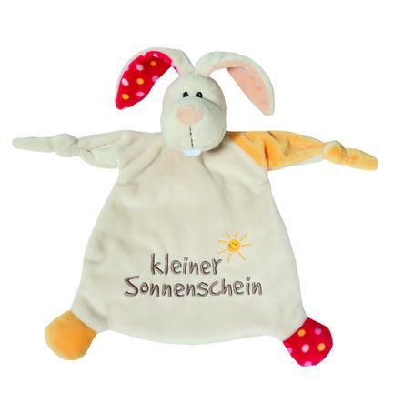 NICI My First NICI Schmusetuch Hase kleiner Sonnenschein 25 x 25 cm