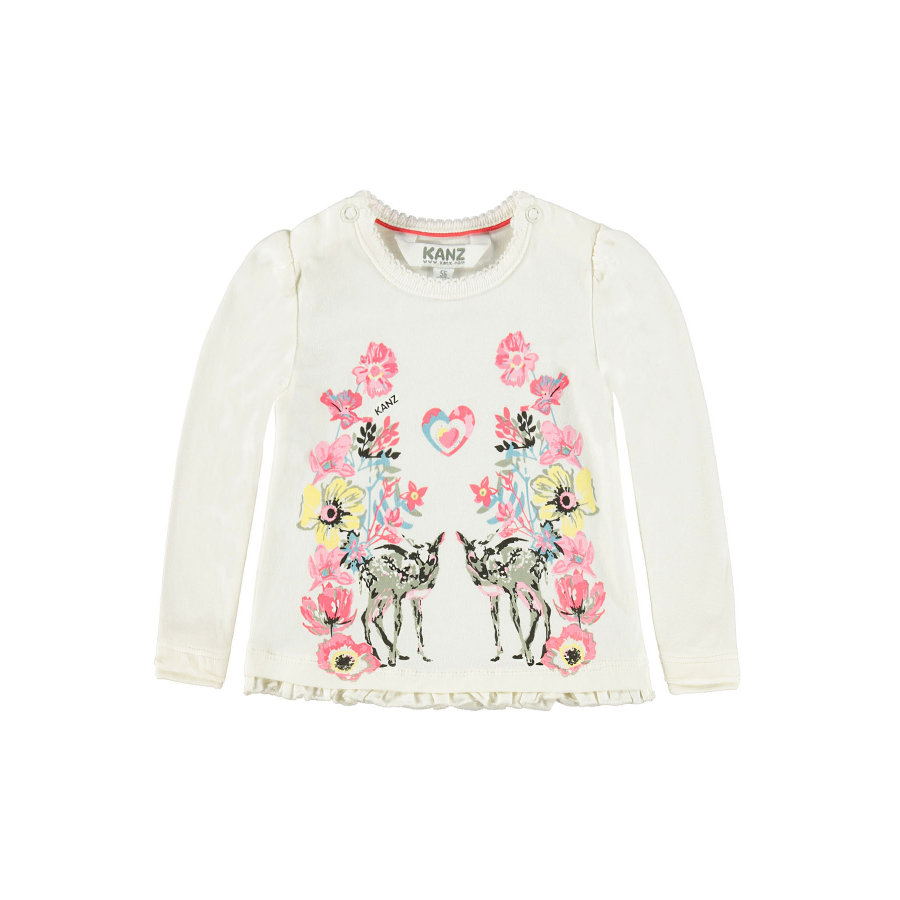 KANZ Girls Longsleeve snow white