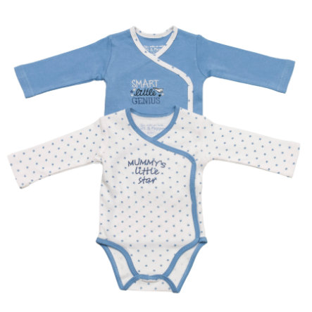 BABY GLÜCK by SALT AND PEPPER Boys 2-er Pack Bodies little star