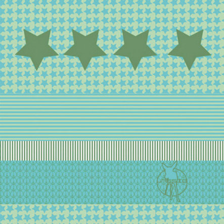 LÄSSIG Twister Kids Multifunctie doek Starlight oliv