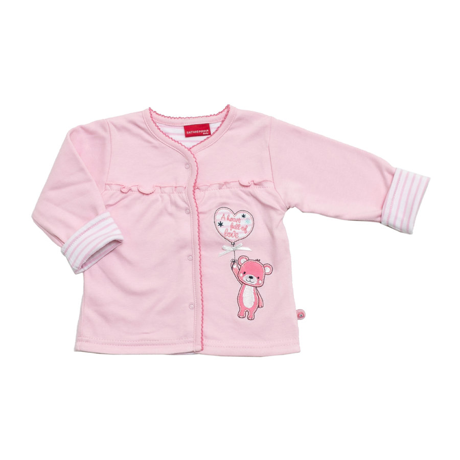 SALT AND PEPPER Girls Mini Sweatjacke rosé