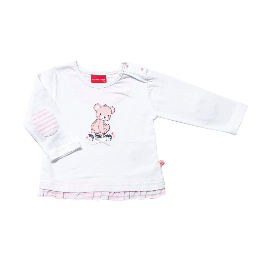 SALT AND PEPPER Girls Longsleeve white