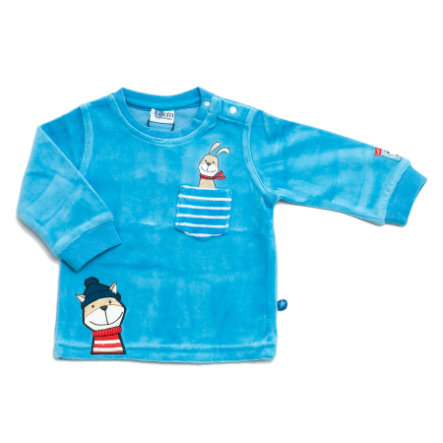 ELTERN by SALT AND PEPPER Boys Baby Nicki Longsleeve ocean blue