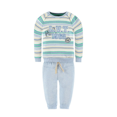 KANZ Boys Set 2-teilig Jogginghose und Sweatshirt stripe