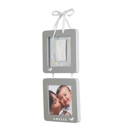 Baby Art Fotoram med fotavtryck