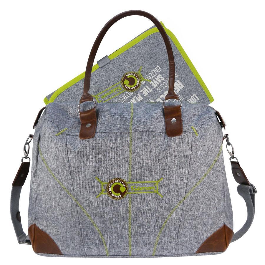 Kidzroom Přebalovací taška Ecological světle šedá